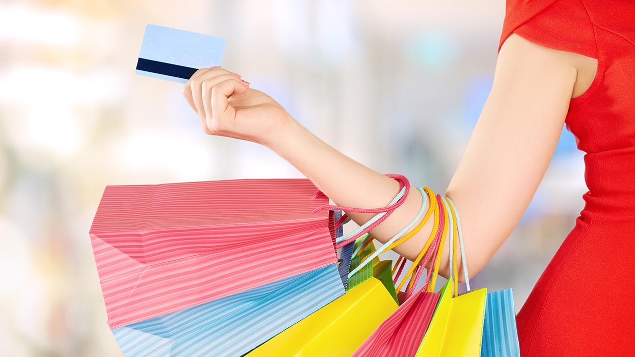 Шоппинг с кредитной картой